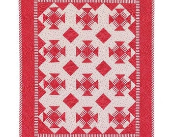Peppermint Twist Quilt Sewing Pattern Download (803059)