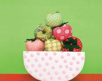 Funky Fruit Juggling Balls Sewing Pattern Download 803099