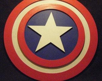 """20"""" Captain America Shield Replica"""