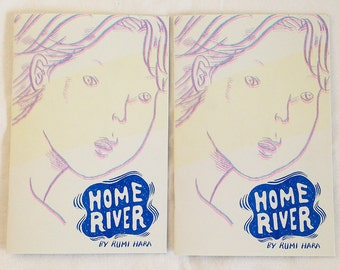 Home River - Riso printed minicomic