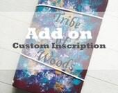 Add on - Custom inscription