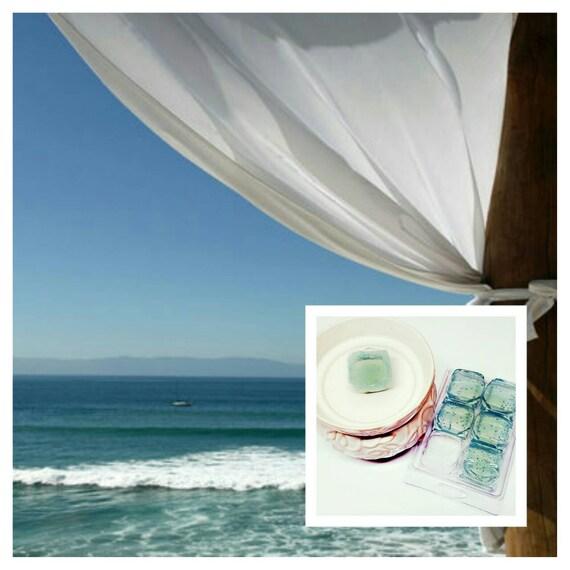 2 Pack Beach Linen Gel Wax Melts