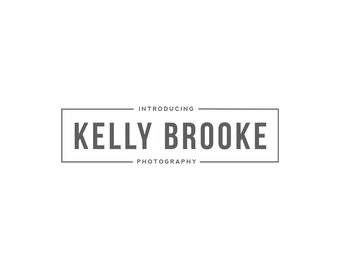 Custom Premade Logo Design - Photography logo, Custom photography watermark, Logo Design, Graphic Design, Signature Watermark Logo template