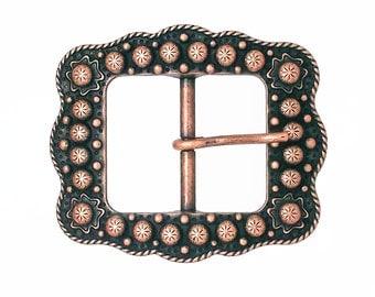 "Sunburst Buckle Copper 3/4"" 2678-10"