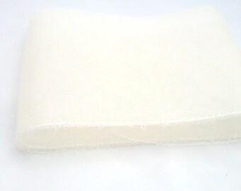 "6"" Crin cream (crinoline horsehair braid) 6 inch (15cm)"