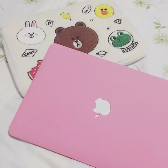 Diy Macbook Cover ~ Pink baby macbook case with keyboard cover laptop
