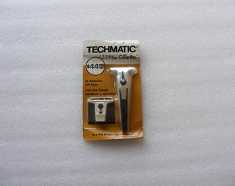 Vintage  Safety Razor  Gillette Techmatic