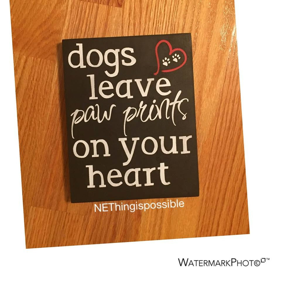 Dog lovers pet sign wooden sign home decor by for Dog related home decor