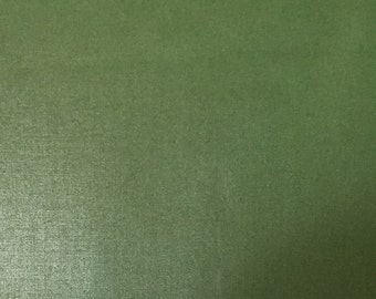 Solid Green Taffeta - polished cotton - Upholstery Fabric by the Yard