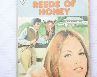 Harlequin Romance #1889 Reeds of Honey by Marget Way retro 70s book