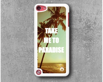 IPod Touch 5 Case Paradise Palm trees