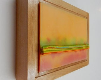 Encaustic Painting Stratum 148