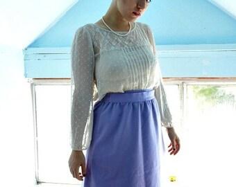 Lavender Wrap Around Skirt