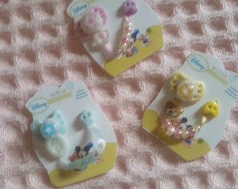 sweet dummy for Ooakbabys with dummy chain, miniature of 1:12 miniature baby