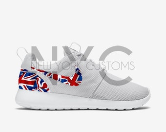 Nike Roshe Run Union Jack Flag