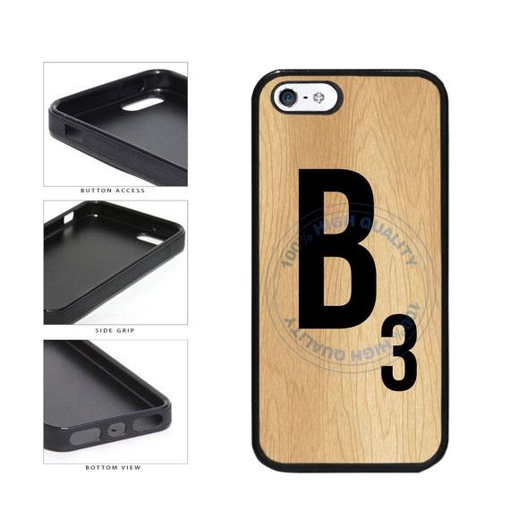 Monogram Wooden Letter B Phone Case Iphone 4 4s 5 5s 5c 6 6s