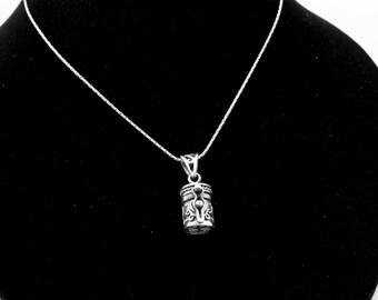 Sterling Silver Keepsake Necklace