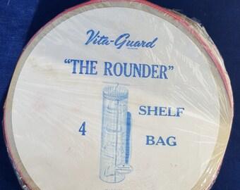 Unopened vintage Vita-Guard shelf bag The Rounder