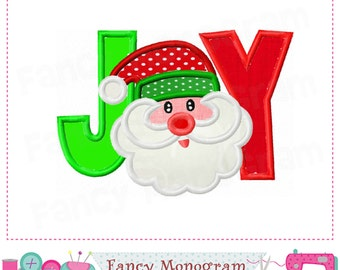 JOY applique,Joy design,Christmas design,Santa Claus,Christmas applique,JOY embroidery,Santa Claus applique,Santa Claus design,Christmas.
