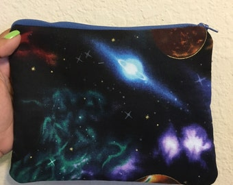 Space Age makeup bag