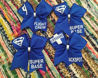 Group stunt bows