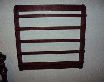 Handmade Towel / Herb Rack in Your Choice of Color and Finish