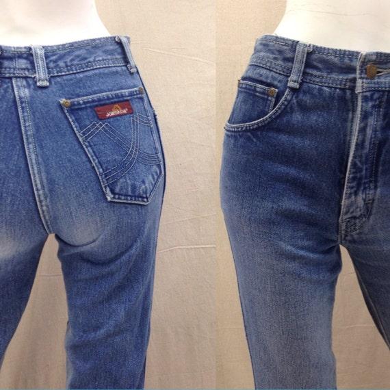80s Jordache Jeans High Waisted Straight Leg // Vintage