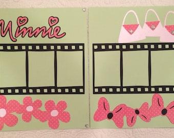 Minnie Filmstrip  Layout