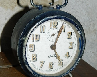 Great Awakening old mechanics JAZ VINTAGE, old french Clock