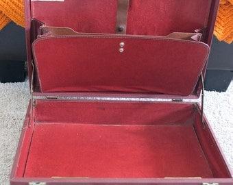 Vintage briefcase- 1970's