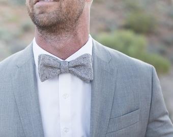 Bow Tie, Gray Men's Bow Tie