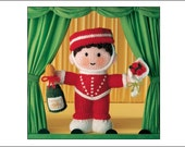 Jean Greenhowe's Little Gift Dolls, Knitting Booklet, knitting, knitting pattern, instruction booklet, knitted dolls, mascot dolls
