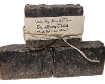 Blackberry Merlot Homemade Cold Process Soap