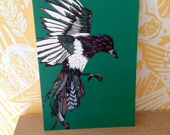 Little Magpie Postcard