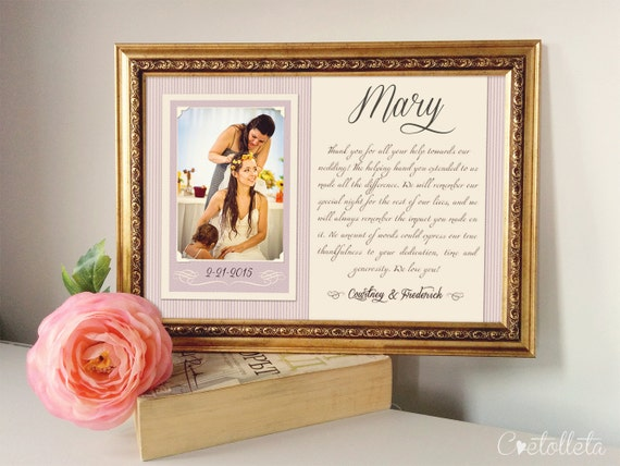 Wedding Gift For Sister Ideas: Sister In Law Wedding Gift Personalized Picture Frame