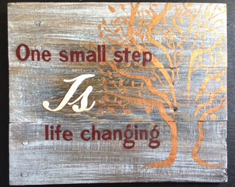 Tree of Life Rustic Sign