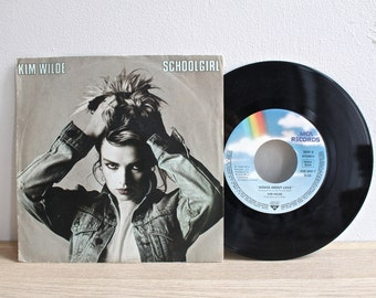 Kim Wilde - School Girl - 45 vmp Record Vinyl