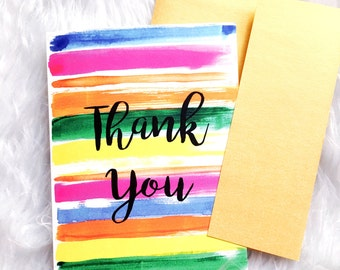 Thank you cards, Note cards,Fashionista gift,Greeting cards set, Thank you card blank,Fashion greeting cards,Handmade greeting cards