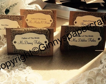 Shabby Chic Place Cards