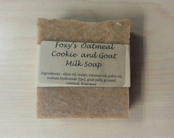 Oatmeal Cookie and Goat Milk Soap