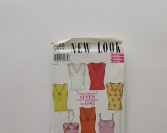 Simplicity New Look T-shirt Pattern 6088- Uncut