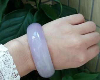 Fashion purple Shiying Yu bracelets, widened thickened female charm bracelet, US size: 67 mm inner diameter