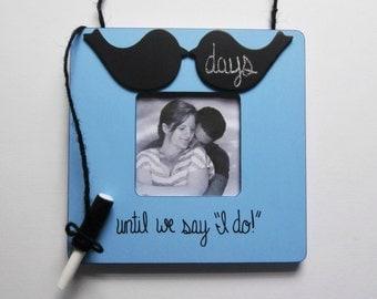 Wedding countdown frame, engagement frame