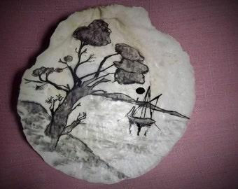 Vietnamese Shell Art