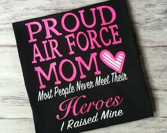 Proud Air Force Mom shirt, airforce mom shirt, Air Force mom shirt, proud Air Force parent, Air Force shirt, Air Force Family Day shirt