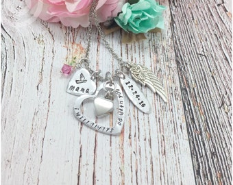 Personalized Urn Necklace, Always with you, death of loved one, Urn Jewelry, Loss of loved ones, Bereavement,
