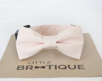 Blush/Petal Dog Bow Tie Sent 3-5 business days after you order