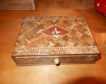 INLAID BOX and PLAYING Cards