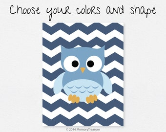 Owl Nursery Decor Wall Art Print Baby Boy Baby Girl Nursery Art Owl Art Owl Decor Owl Nursery Print Wall Decor Children Kids Room Decor Owl
