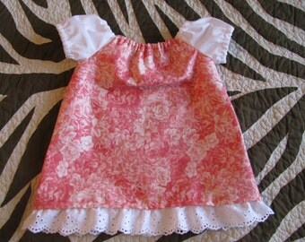 Baby Girl's Peasant Dress 0-3 Months